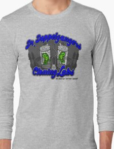 Purchase an evil twin today! Long Sleeve T-Shirt