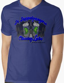 Purchase an evil twin today! Mens V-Neck T-Shirt