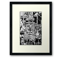 Cyber Evolution Framed Print