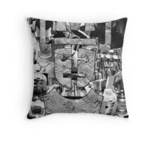 Cyber Evolution Throw Pillow