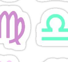 Pastel Zodiacs Sticker