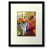 flowers well travelled Framed Print