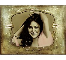 Vintage Woman Photographic Print