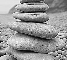 Stacked Rocks by Lou Wilson