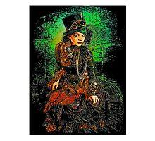 Steampunk girl Photographic Print