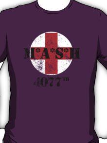 M*A*S*H TV Series 4077th Military TV Series T-Shirt