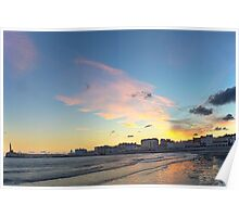 A Margate Sunrise Poster