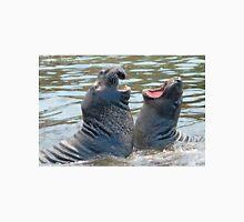 Confrontation / Conflict. Elephant Seals Reserve, San Simeon, CA Unisex T-Shirt