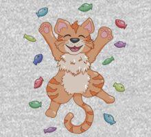 Kitty Heaven Orange Fur  Kids Clothes
