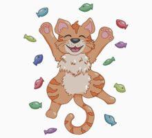 Kitty Heaven Orange Fur  Baby Tee