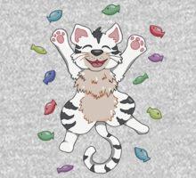 Kitty Heaven White Fur  Baby Tee