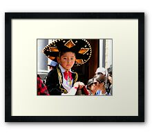 Cuenca Kids 183 Framed Print