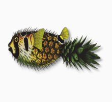pineapple puffer phish [pppfff!!!] Kids Clothes