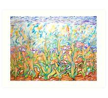 The Corn Fields Art Print