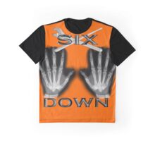 6 Down Graphic T-Shirt