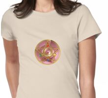 Sailor Moon's Crystal Star Compact Womens Fitted T-Shirt