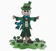 St Patrick's Shamrock Scarecrow by hybridwing