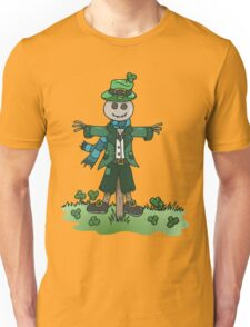 St Patrick's Shamrock Scarecrow Unisex T-Shirt