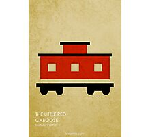 The Little Red Caboose Photographic Print