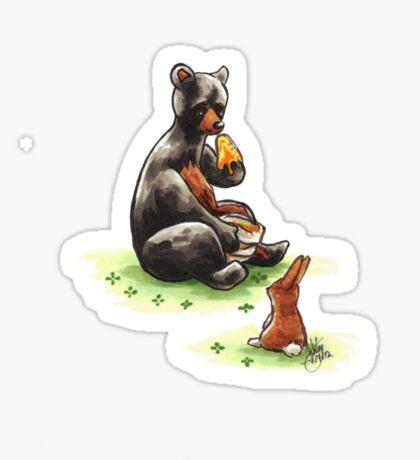 Do Bunnies Like Honey? Sticker