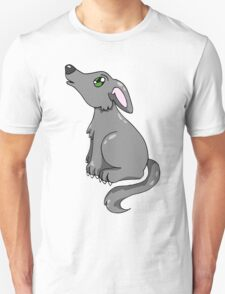 Grey Wolf Howling  T-Shirt