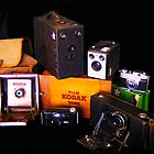 Grandpa's camera collection by Chris Brunton