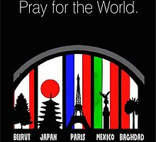 Pray for the world by Jimmy Rivera