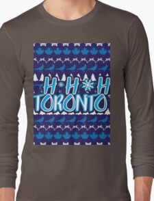 Ho Ho Ho, Toronto Long Sleeve T-Shirt