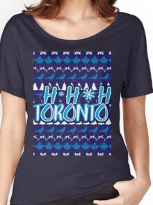 Ho Ho Ho, Toronto Women's Relaxed Fit T-Shirt