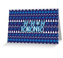 Ho Ho Ho, Toronto Greeting Card