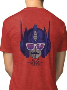 optimus style Tri-blend T-Shirt