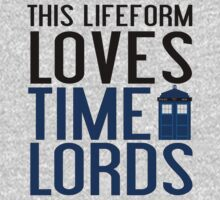 LOVES TIME LORDS One Piece - Long Sleeve