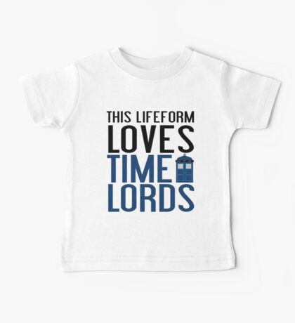 LOVES TIME LORDS Baby Tee