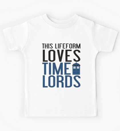 LOVES TIME LORDS Kids Tee