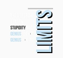 """The Difference between Genius and Stupidity"" Unisex T-Shirt"