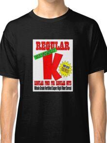regular k cereal t Classic T-Shirt