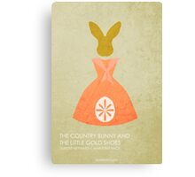 The Country Bunny and the Little Gold Shoes Canvas Print
