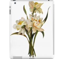 Double Narcissi In A Bouquet Isolated iPad Case/Skin