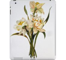 Double Narcissi In A Bouquet iPad Case/Skin