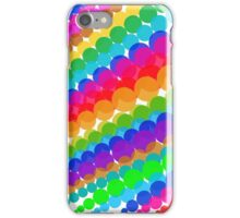 Rainbow Bubbles iPhone Case/Skin