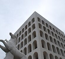 Cubic Colosseum by Claire Dimond