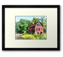 Williams-Droescher  Mill Framed Print