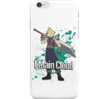 I Main Cloud - Super Smash Bros iPhone Case/Skin