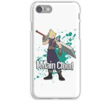 I Main Cloud - Super Smash Bros iPhone Case/Skin