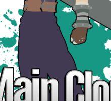 I Main Cloud - Super Smash Bros Sticker