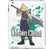 I Main Cloud - Super Smash Bros iPad Case/Skin