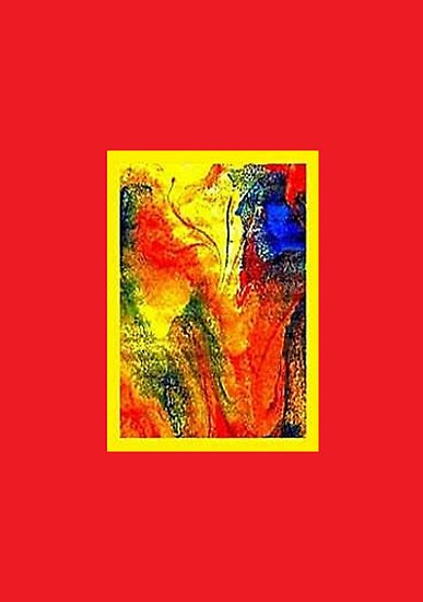 JWFrench Collection Marbled Card 34 by JWFrench