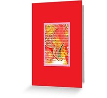 JWFrench Collection Marbled Card 37 Greeting Card