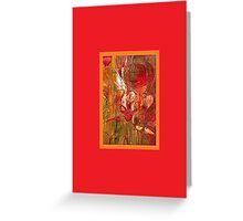 JWFrench Collection Marbled Card 38 Greeting Card