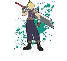 Cloud - Super Smash Bros Photographic Print